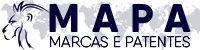 Logomarca da empresa Mapa Marcas e Patentes